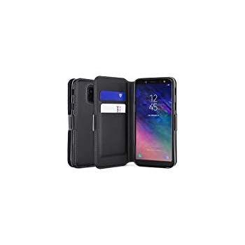 813c9b329dcf Amazon.com: Olixar Samsung Galaxy A6 2018 Wallet Case - Genuine ...