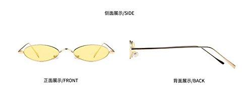 vintage lunettes cercle style métallique de polarisées du rond soleil retro inspirées Lennon en CU0qwgC