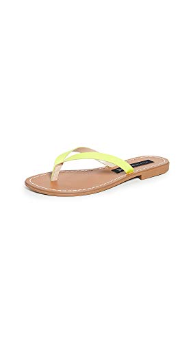 - STEVEN by Steve Madden Women's CHEY Sandal, Yellow neon, 10 M US