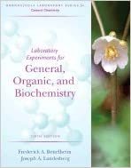 Lab Experiments for General, Organic and Biochemistry to Accompany Introduction to General, Organic and Biochemistry 6TH EDITION