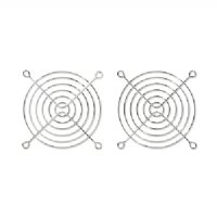 Fan Grill Chrome - Bgears 2 Pieces Pack Cooling Fan Grill 90mm