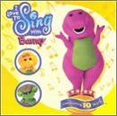 I Love to Sing With Barney (Barney Sing A Long Songs Cd)