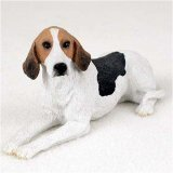 American Foxhound Original Dog Figurine (4in-5in)