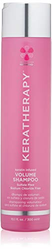 KERATHERAPY Keratin Infused Volume Shampoo, 10.1 Fl Oz