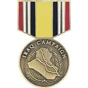 Medal Iraq Campaign - Original Artwork, Expertly Designed PIN - 1.18