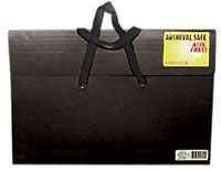STAR PRODUCTS V420HBLK DURA-TOTE PORTFOLIO 20X26X2 BLACK W/HANDLES (Star Products Dura Tote)