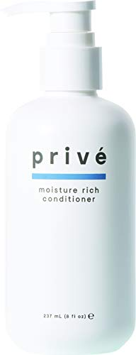 Privé Moisture Rich Conditioner (8 Fluid Ounce / 237 Milliliter) - Concentrated Hydration Therapy For Dry, Lifeless Hair