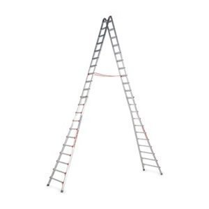 Telescoping Ladder, 17 ft., IA, Aluminum by Little Giant by Little Giant