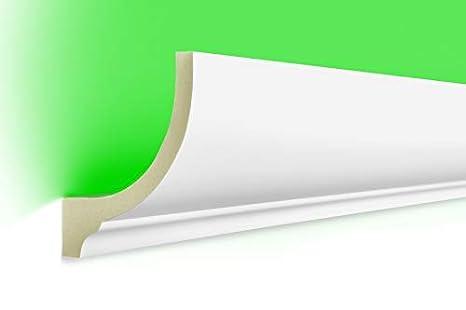unit/é centrale MOULURE en stuc Indirecte /Éclairage antichoc 80x70 led-1 40 METER LED PROFIL