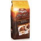 Folgers Gourmet Selections Flavored Ground Coffee, Toasted Hazelnut, 10oz Bag (Pack of 6) by Folgers