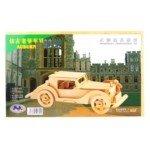 Creative 3D Jigsaw Woodcraft Construction Puzzle Decoration Kit for Kids-Auburn VI(34*21CM)