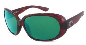 Costa Del Mar Sunglasses - Hammock- Plastic / Frame: Tortoise Lens: Polarized Green Mirror 580P - Mar Costa Hammock Sunglasses Del