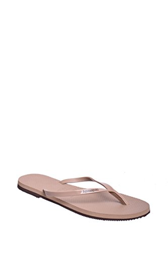 Havaianas You Metallic Sandal, Rose Gold,41/42 - Havaianas Embossed Sandals