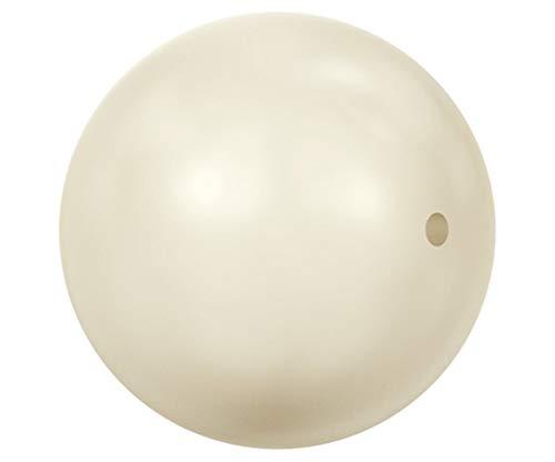 18pcs Crystal Cream Pearl Round Glass Crystals 5810 Swarovski Bead Faux Freshwater Pearl Imitation 8mm