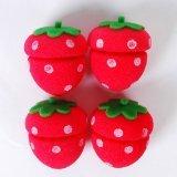 Strawberry Soft Sponge Hair Roller Curler 4pcs