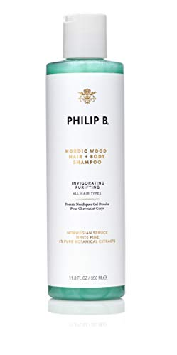 Philip B Nordic Wood Hair & Body Shampoo - 11.8 Ounces
