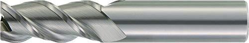 0.5 Cutting Dia 0.5 Shank Dia 0.06 Radius WIDIA Hanita 4K4313075C ArCut 4K43 HP Aluminum End Mill 3-Flute RH Cut Uncoated Carbide