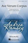 Ave Verum Corpus - Stan McGill Choral Series - Andrea Ramsey - SATB div. a cappella - SATB DV ACAP - Sheet Music
