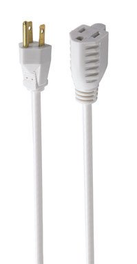 Ace Indoor and Outdoor Extension Cord 16/3 SJTWA 25 ft. L White