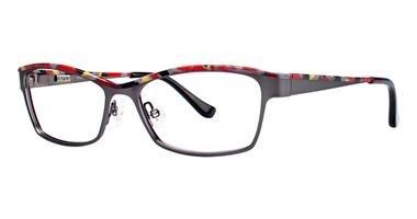 KENSIE Eyeglasses FEMININE Gunmetal 52MM