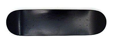 Moose Skateboard Blank Deck full black
