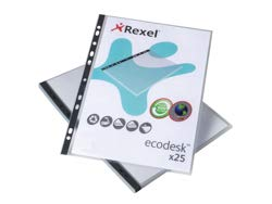 (Rexel Eco Filing Multi Punched Pocket Pack of 25)
