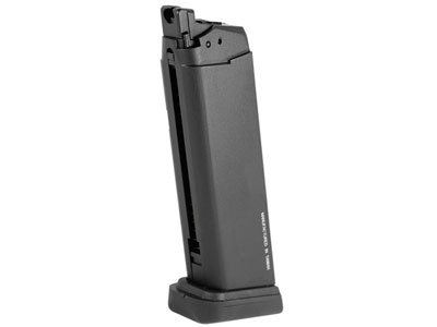KWA ATP GBB Airsoft Pistol Magazine, 23 Rds,Color/Black by KWA