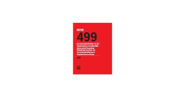 NFPA (FIRE) 499 2016: NFPA: 9781455914098: Amazon com: Books