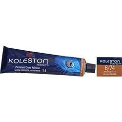 Wella Koleston Perfect Color 6/74 Dark Blonde/Brown Red 2oz by Wella Color