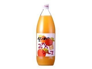 Ehime Prefecture, 100% fruit juice Hakata Ehime of mandarin orange juice 1LX6 pcs set by Tangerine juice of Hakata juice Ehime