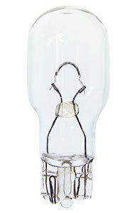 HC Lighting - T5 Wedge base Miniature Style Lamp Low Voltage 12 Volt Clear (20 Pack) (18 Watt)