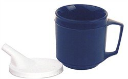 Fabrication Weighted Cup, Tube Lid, 8 Ounce