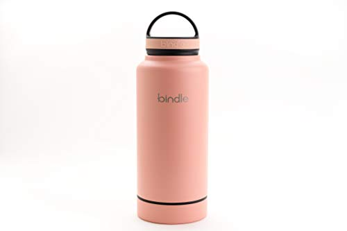 Bindle Bottle 24oz Stainless Steel Vacuum Insulated Water Bottle | Patent Pending Integrated Storage Compartment | Eco-Friendly Sports Flask For Cold Drinks & Hot Beverages | Leakproof & ()