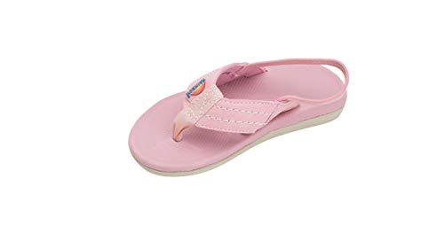 (Rainbow Sandals Kid's Cape Molded Rubber Sandal, Pink, Toddler 9-10 B(M) US)