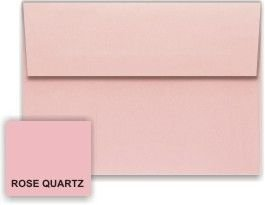 (Metallic Rose Quartz A2 (4-3/8-x-5-3/4) Envelopes 50-pk - 120 GSM (81lb Text) PaperPapers 4X5 Invitation, Response and DIY Greeting Envelopes)