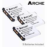 ARCHE LI-42B LI-40B Replacement Battery  for [Olympus Stylus 1040,1050W,1060,1070,7000,7010,7020,7030,7040,Tough...