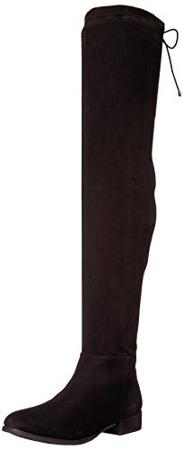 Chinese Laundry Women's Richie Over The Knee Boot, Black Suede, 8 M US