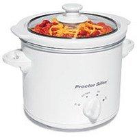Proctor Silex 1.5 Round Quart Slow Cooker - 33015