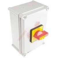 RS Pro 466122 4 Pole DIN Rail Panel Mount Non-Fused Switch Disconnector 100 A 45 kW IP65