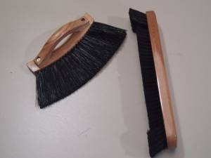 """UNDER CUSHION / HALF MOON AND 12"""" SNOOKER OR POOL TABLE BRUSHES** SGL"""