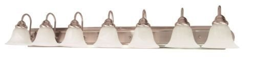 NEW! Nuvo Lighting 60/291 Brushed Nickel Ballerina 7 Light Bathroom Vanity Light ;from#leadinginnovations, #UGEIO127291820070338