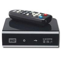Western Digital WDAVP00BE USB 2.0 1080p HDTV Media Player w/
