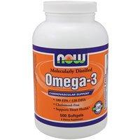 Now Foods Omega-3 - 500 Softgels