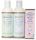 Grandma El's Complete Bath Gift Set - Baby Wash, Baby Shampoo and Diaper Rash Remedy ...