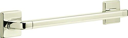 Delta Faucet 41918-PN Bath Safety Angular Modern Grab Bar, 18-Inch, Polished Nickel by DELTA FAUCET