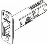 Kwikset 82247 RCAL Adjustable Backset Entry Deadlatch, Venetian Bronze