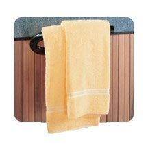 Leisure Concepts Spa Towel Bar (Black Powder Coated)