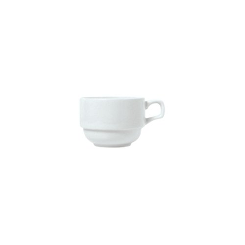 Syracuse China 911194016 Reflections 8 Ounce Stacking Cup - 36 / CS ()