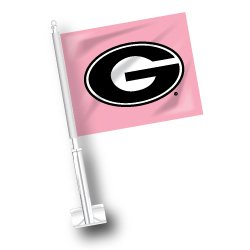 NCAA Georgia Bulldogs Car Flag Set of 2 ETC