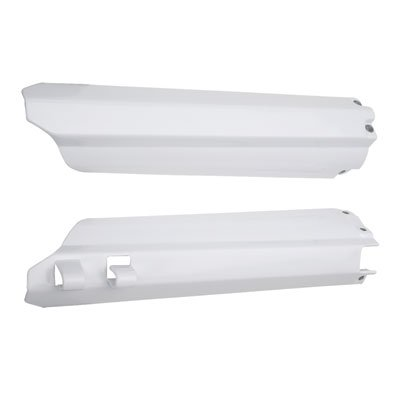 - Acerbis Lower Fork Cover Set White for Yamaha YZ125 1996-2004